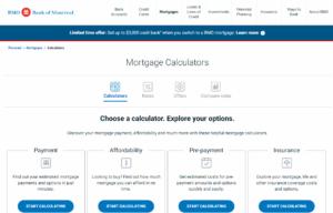BMO Mortgage Calculator
