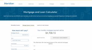 Meridian Mortgage Calculator
